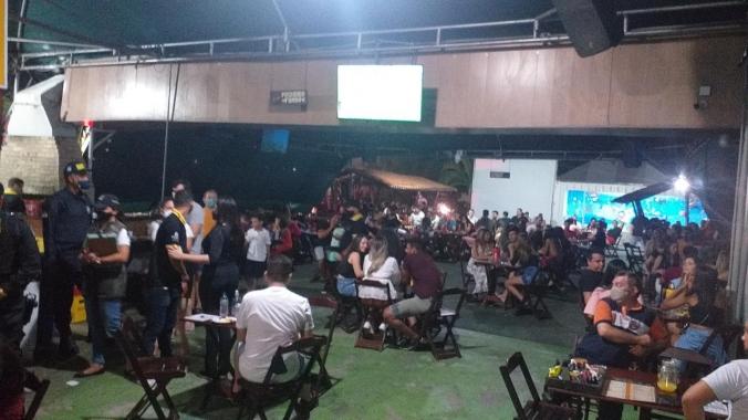 Equipes de Fiscalização da Prefeitura interditam 12 estabelecimentos no fim de semana em Natal