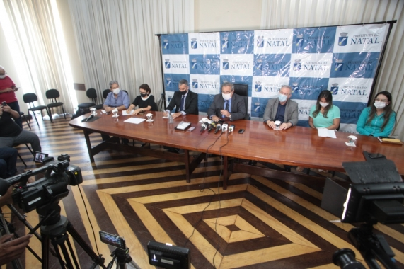 Prefeitura de Natal dobra a capacidade de leitos de UTI do Hospital de Campanha